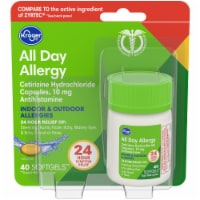 Kroger® All Day Antihistamine Allergy Softgels Carded Pack