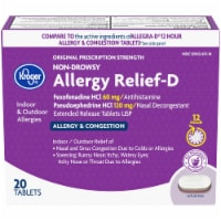 Kroger® Non-Drowsy Allergy Relief-D Tablets 120mg