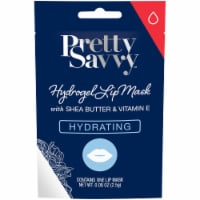 Pretty Savvy Hydrating Hydrogel Lip Mask with Shea Butter & Vitamin E