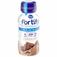 Kroger® Fortify Chocolate Nutrition Shake