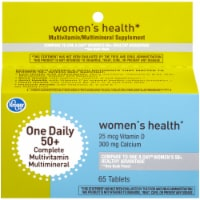 Kroger® Women's 50+ One Daily Complete Mutlivitamin Tablets - 65 ct