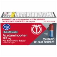 Kroger® Extra Strength Acetaminophen Rapid Release Gelcaps