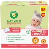 Comforts Fragrance-Free Baby Wipes Soft Packs