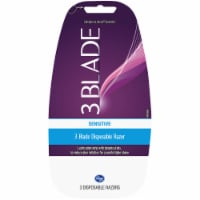 Kroger® Women's Sensitive 3 Blade Disposable Razors