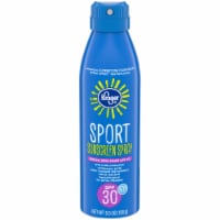 Kroger® Broad Spectrum Sport Sunscreen Spray Aerosol Can SPF 30