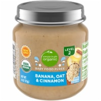 Simple Truth Organic® Banana Oat & Cinnamon Stage 2 Baby Food