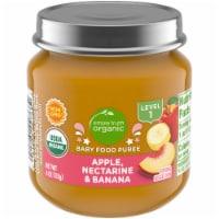 Simple Truth Organic® Apple Nectarine and Banana Baby Food Jar