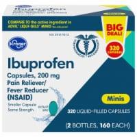 Kroger® Ibuprofen Pain Reliever & Fever Reducer Mini Softgels 320 Count
