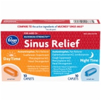 Kroger® Maximum Strength Daytime and Night Time Sinus Relief
