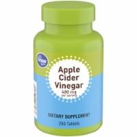 Kroger® Apple Cider Vinegar Tablets 200 Count