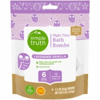 Simple Truth™ Lavender Vanilla Bath Bombs 6 Count