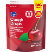 Kroger® Cherry Flavor Cough Suppressant/Oral Anesthetic Drops 200 Count