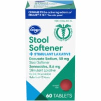 Kroger® Stool Softener + Stimulant Laxative Tablets