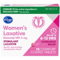 Kroger® Women's Stimulant Laxative Comfort Coated Tablets
