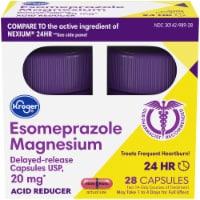Kroger® Esomeprazole Magnesium Acid Reducer Capsules 20mg - 28 ct