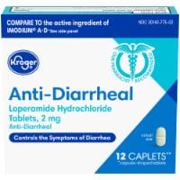 Kroger® Anti-Diarrheal Caplets 2 mg