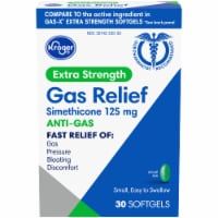 Kroger® Extra Strength Gas Relief Anti-Gas Softgels