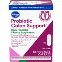 Kroger­® Probiotic Colon Support Vegetable Capsules