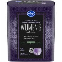 Kroger® Women's S/M Maximum Protection Underwear
