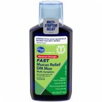 Kroger® Maximum Strength Fast Mucus Relief DM Max Cough Suppressant Liquid