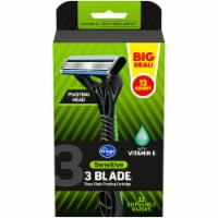 Kroger® Sensitive Triple Blade Disposable Razors