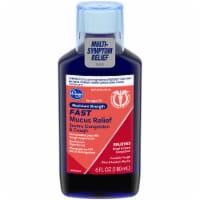 Kroger® Maximum Strength Severe Congestion & Cough Fast Mucus Relief Liquid - 6 fl oz