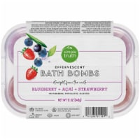Simple Truth® Blueberry Strawberry & Acai Effervescent Bath Bombs
