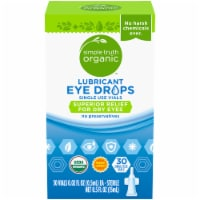 Simple Truth Organic™ Lubricant Eye Drops Single Use Vials