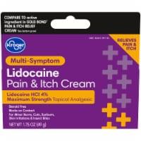 Kroger® Max Strength Lidocaine Pain & Itch Cream