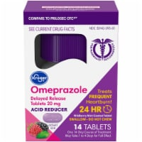 Kroger Wildberry Mint Omeprazole Acid Reducer Tablets - 14 ct