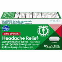 Kroger® Extra Strength Headache Relief Caplets