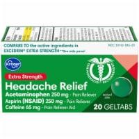 Kroger® Extra Strength Headache Relief Geltabs