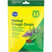 Kroger® Herbal Cough Drops - 50 ct