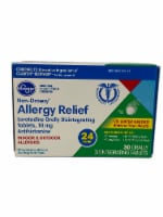 Kroger® Non-Drowsy Allergy Relief Tablets - 30 ct