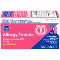 Kroger® Allergy Tablets 25 mg - 100 ct