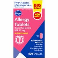 Kroger® Allergy Tablets 25mg - 400 ct