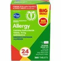 Kroger 24 Hour Indoor & Outdoor Allergy Relief Tablets - 365 ct