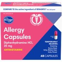 Kroger® Allergy Antihistamine Capsules - 48 ct