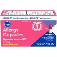 Kroger® Allergy Antihistamine Capsules - 100 ct