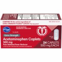 Kroger® Extra Strength Acetaminophen Caplets 500mg - 24 ct