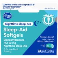 Kroger Sleep Aid Soft Gels - 32 ct