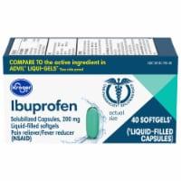Kroger® Ibuprofen Capsules 200mg - 40 ct