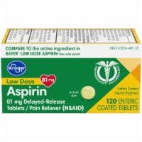Kroger® Low Dose Aspirin Delayed-Release Tablets 81mg - 120 ct