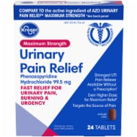 Kroger® Maximum Strength Urinary Pain Relief Tablets - 24 ct