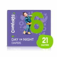 Comforts™ Size 6 Day or Night Diapers - 21 ct