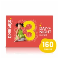 Comforts™ Size 3 Day or Night Diapers Super Value Box - 160 ct
