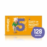 Comforts™ Size 5 Day or Night Diapers Super Value Box - 128 ct