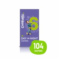 Comforts™ Size 6 Day or Night Diapers Super Value Box - 104 ct