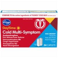 Kroger® Daytime Cold Multi-Symptom Relief Caplets - 24 ct