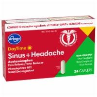 Kroger® DayTime Sinus + Headache Reliever Caplets - 24 ct